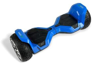 G2 WARRIOR PRO Off-Road Hoverboard 8.5 inch BLUE