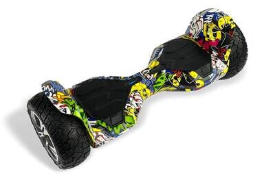 G2 WARRIOR PRO Off-Road Hoverboard 8.5 inch HIP HOP