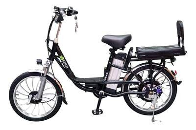 """Etech Motion E4 Delivery & Cargo Electric eBike 20"""" 250W 12Ah Battery"""