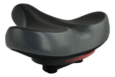 Wide seat for Bicycles and Electric Bikes Comfort Universal Cycle Saddle