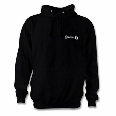 Shuffle T hoodie in black
