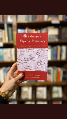 Signed copy of The Advanced Rhyming Dictionary With Personalised Message - free UK shipping