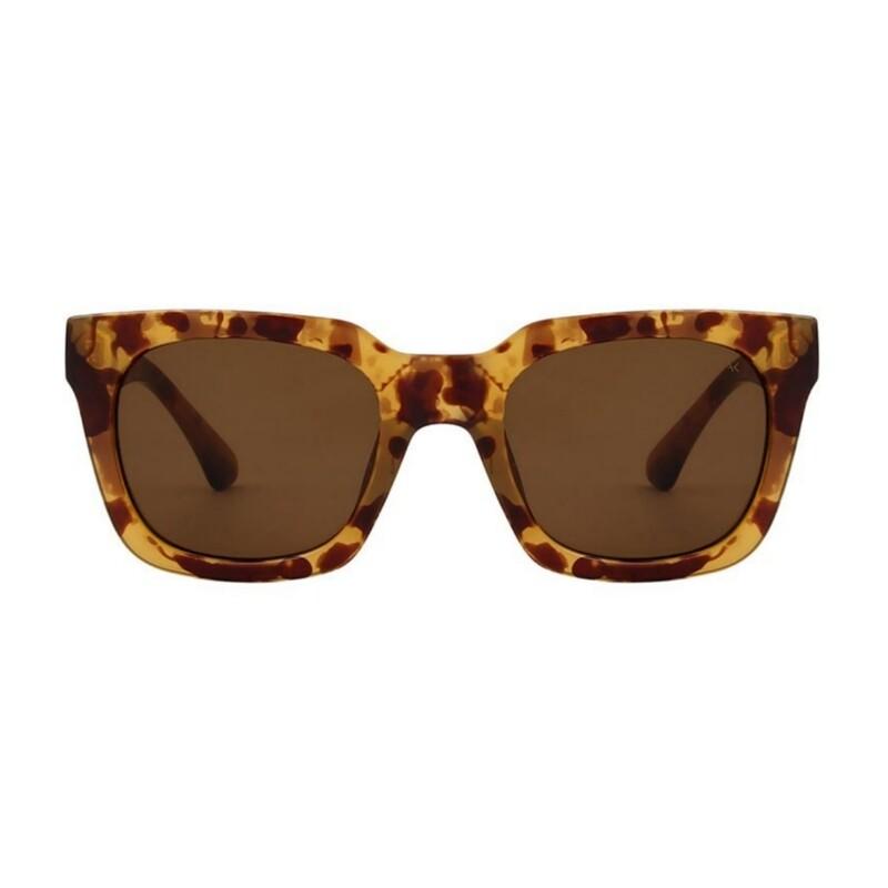 "Слънчеви очила ""Nancy Demi Light Brown Transparent ""  A.Kjærbede"