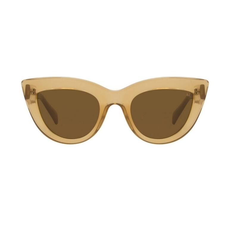 "Слънчеви очила ""Stella Light Brown Transparent""  A. Kjærbede"