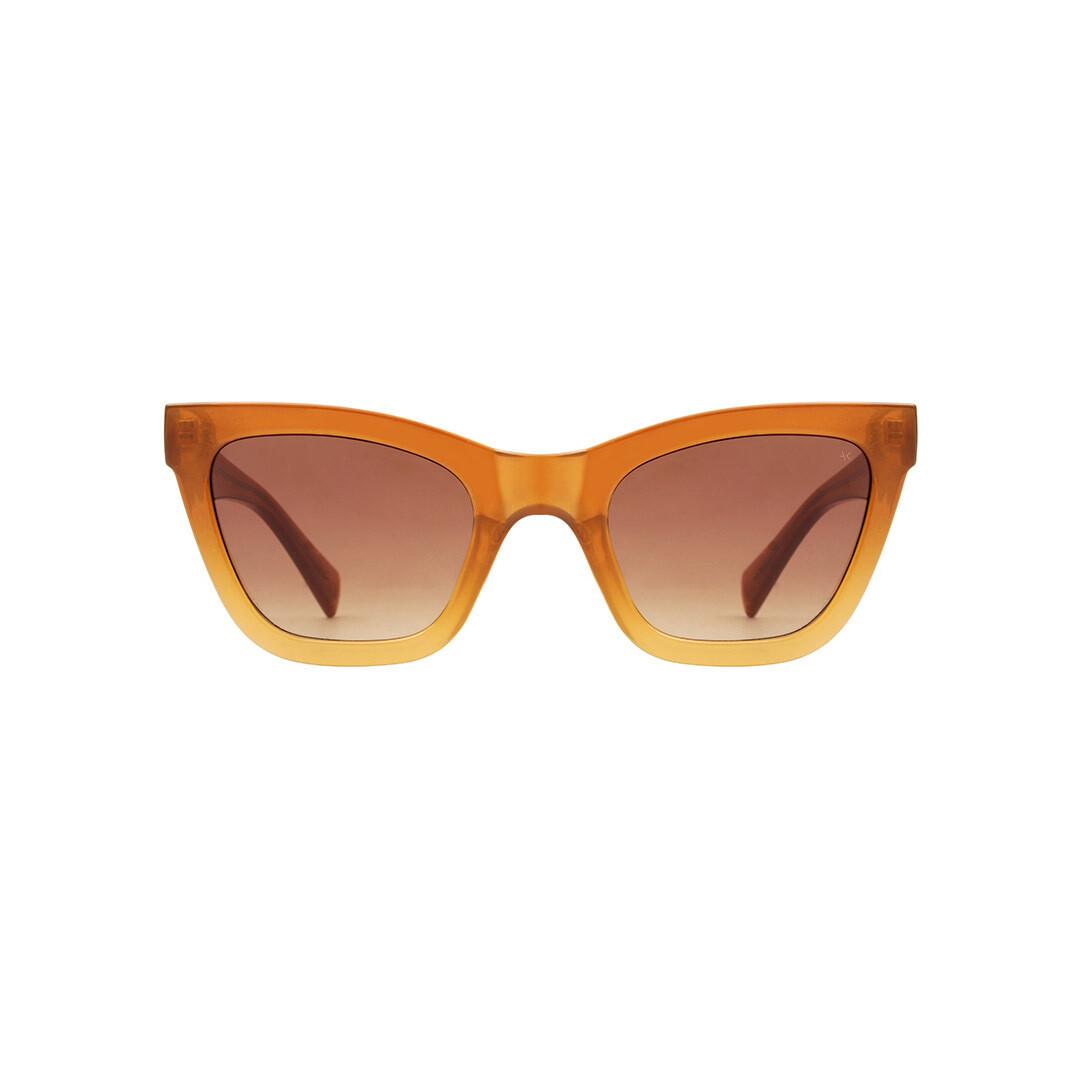 "Слънчеви очила ""Big Kanye Brown/Light Brown Transparent"" A.Kjærbede"