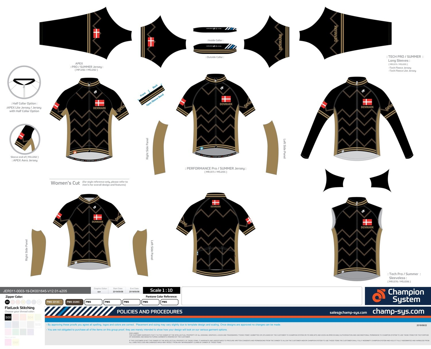 100 CW Jersey