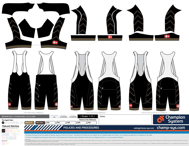 101 CW Bib Shorts