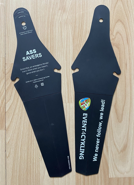Ass Saver med Event4Cykling logo