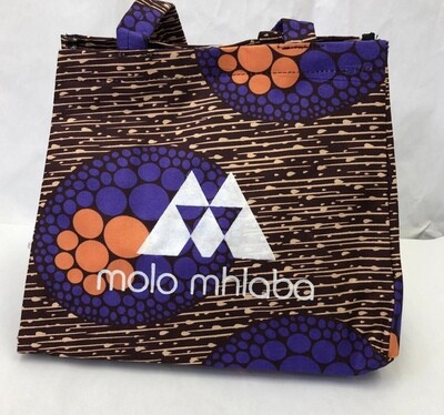 Purple and orange handbag