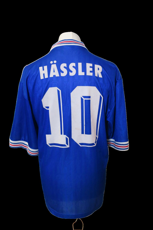 Maillot Karlsruher SC Away 1996-97 #10 Hässler