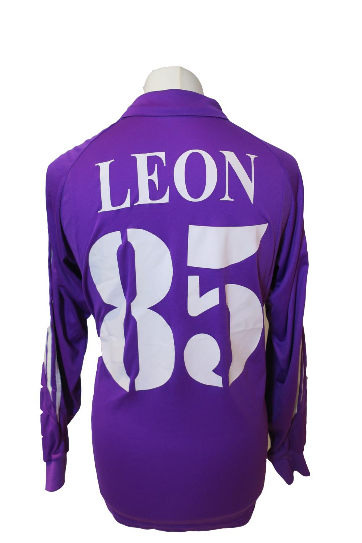 Maillot Fiorentina Home 2003-04 #85 LEON