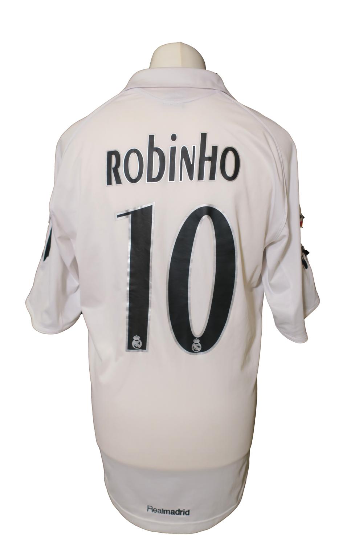 Maillot Real Madrid Home 2005/06 #10 Robinho