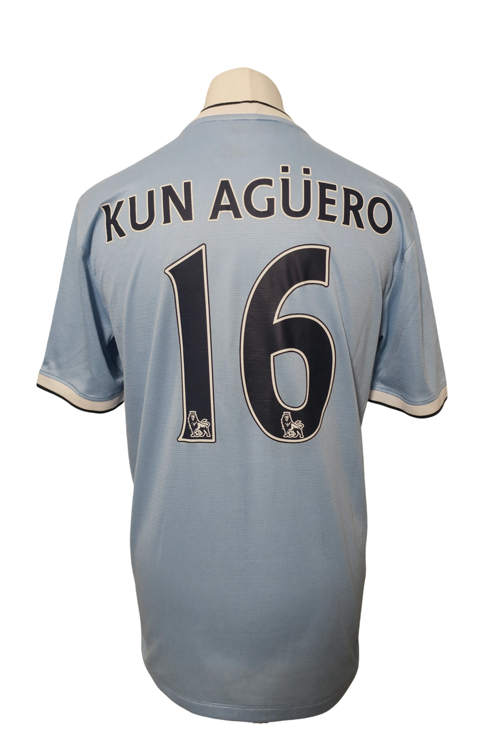 Manchester City Home 2013/14 #16 Kun Agüero