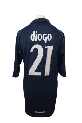 Maillot Real Madrid Away 2005/06 #21 Diogo
