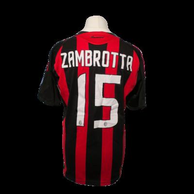 Maillot A.C Milan Home 2008/09 #15 Zambrotta