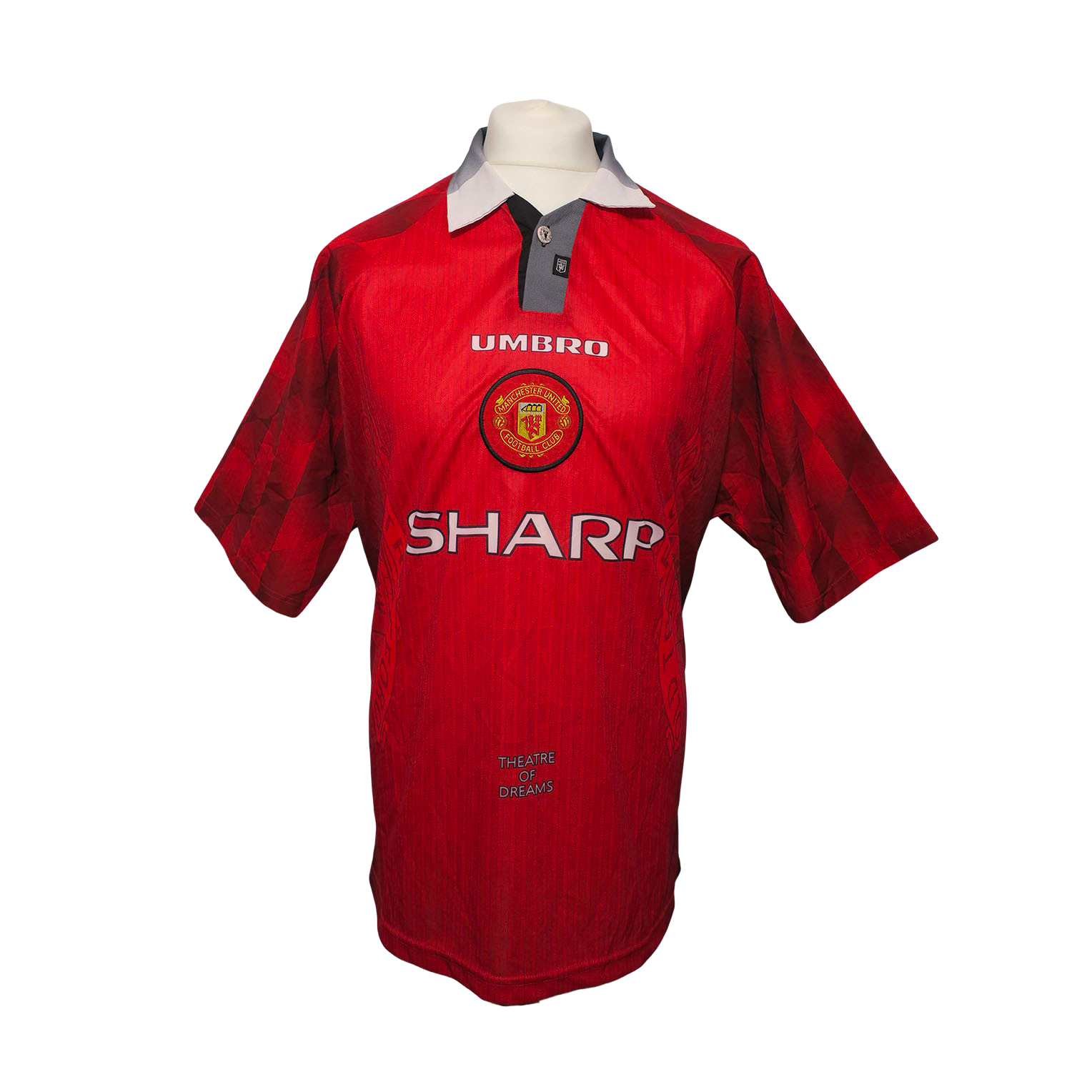 Maillot Manchester United Home 1996/98