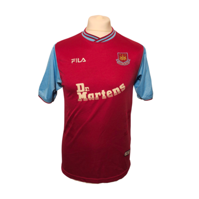 Maillot West Ham Home 2001/03