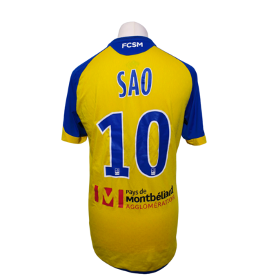 Maillot FCSM Sochaux Away 2017-2018 N°10 Sao