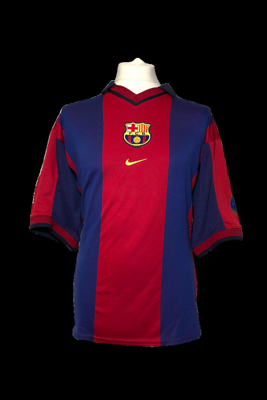 Maillot Barcelona Home 2000/01