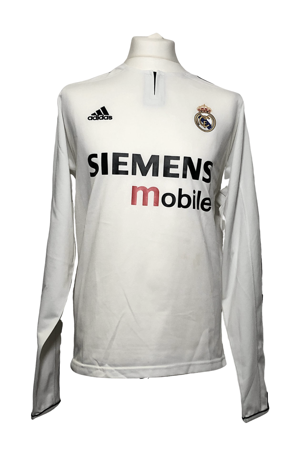 Maillot Real Madrid Champions League Home 2003/04