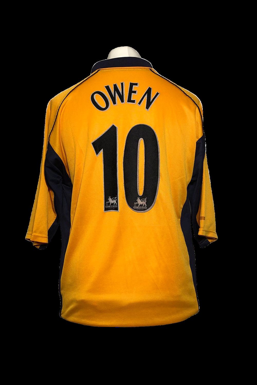Maillot Liverpool Away 2000/01 #10 Owen