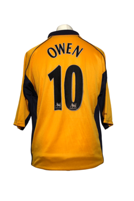 Maillot Liverpool Away 2000/01 #10 Owen