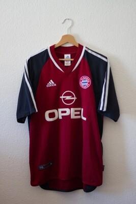 Maillot Bayern Munich 2001/02 Home