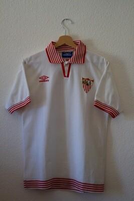 Maillot Seville F.C. 1996/97 Home #15 Salva