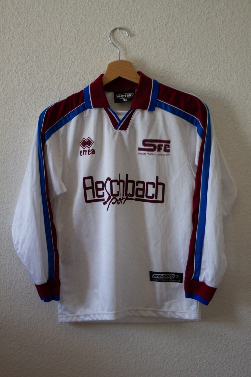 Maillot Servette FC Junior Away 2005/06