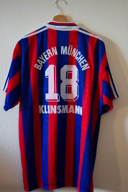 Maillot Bayern Munich home 1995/97 #18 Klinsmann