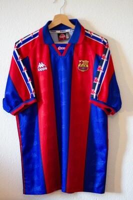 Maillot Barcelona home 1995/97