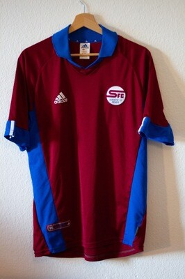 Maillot Servette Home 2001/02