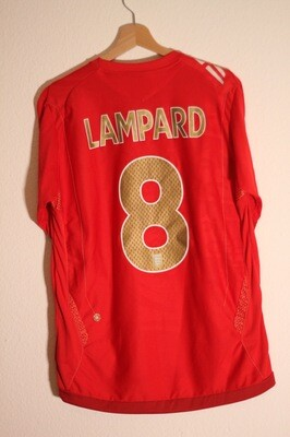 England 2006/08 Away #8 LAMPARD
