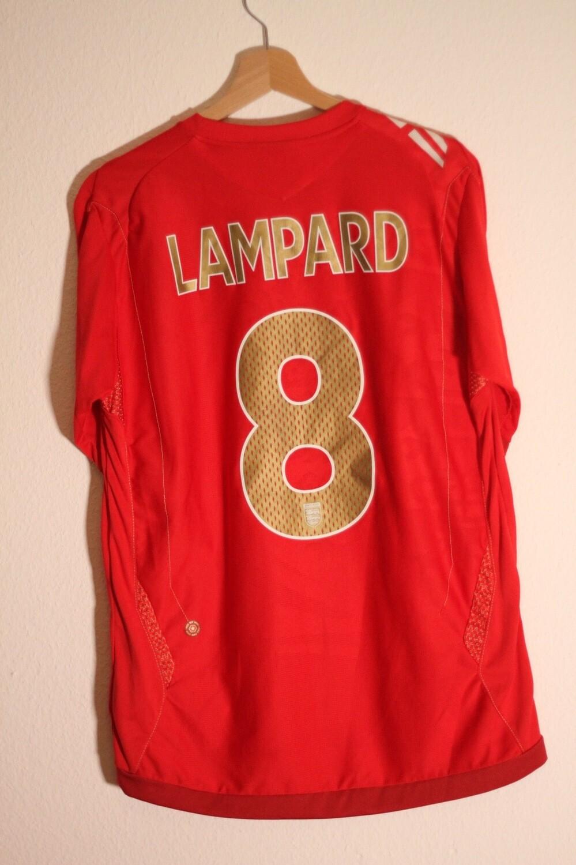 England 2006/08 Away #8 LAMPARD