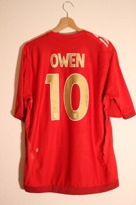 England 2006/08 Away #10 OWEN