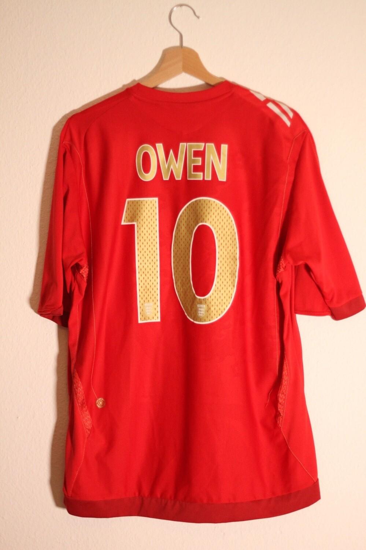 England 2006/08 Away #10 OWEN