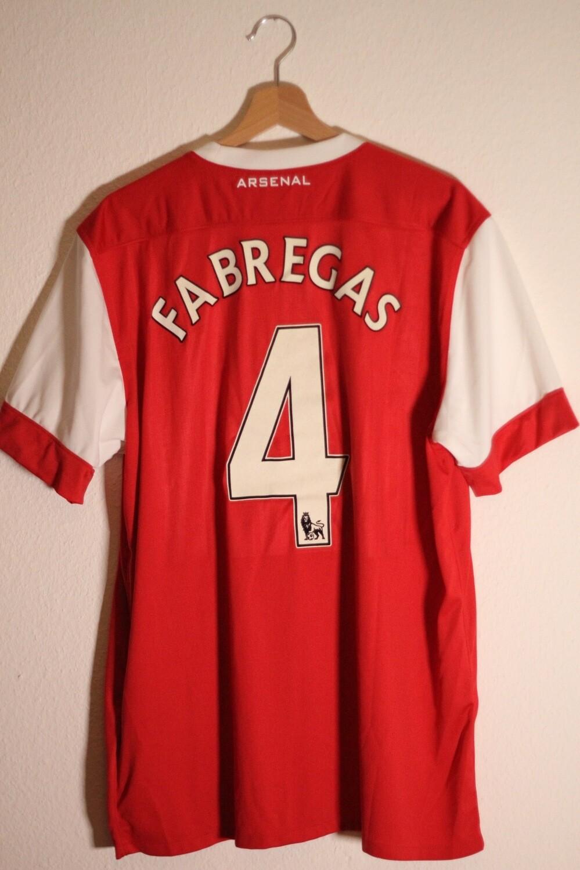 Arsenal 2010/11 Home #4 FABREGAS