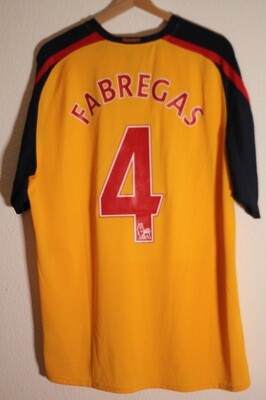 Arsenal 2008/09 Away #4 FABREGAS