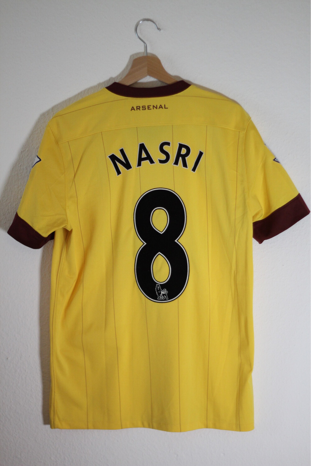Maillot Arsenal 2010/13 Away #8 NASRI