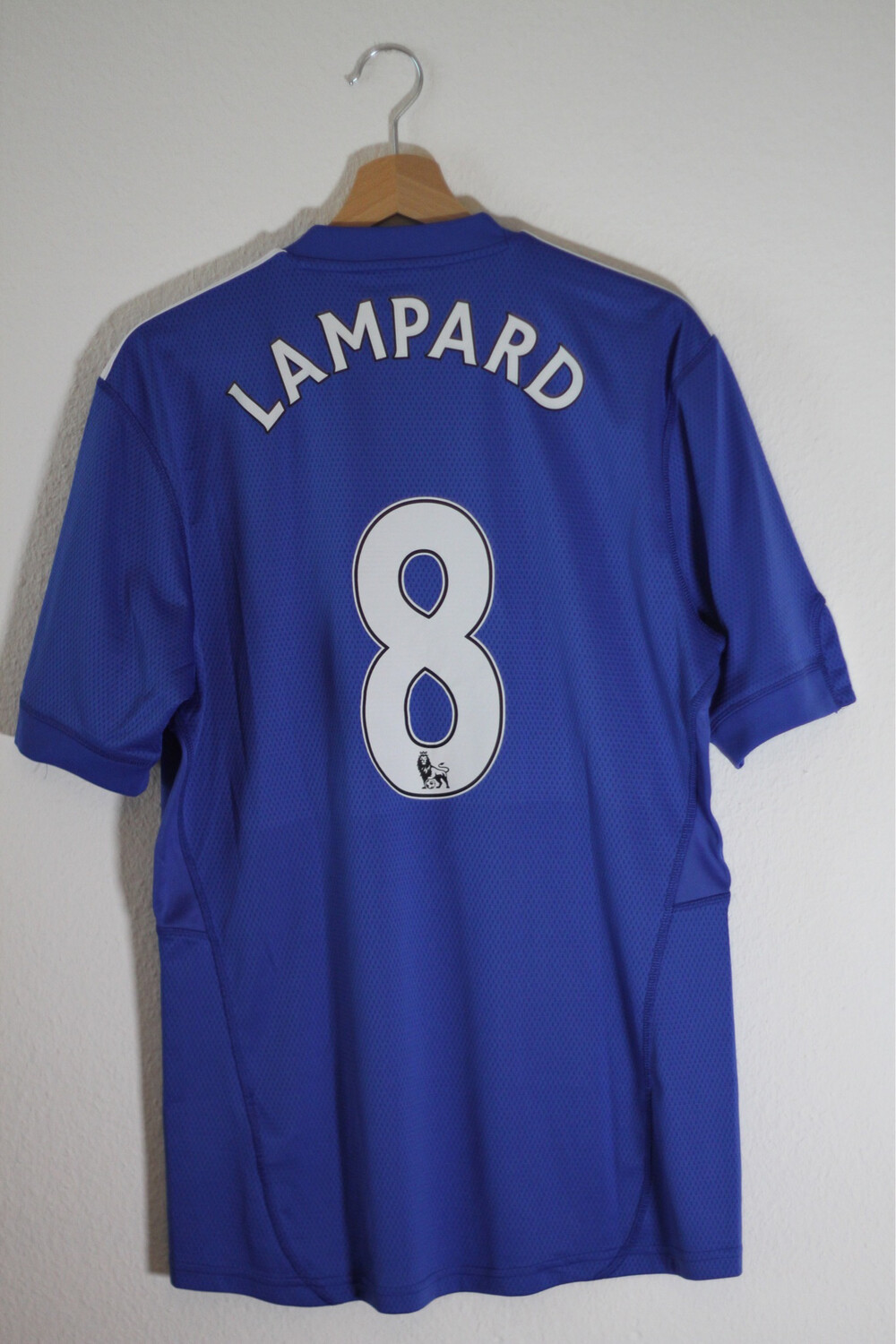 Maillot Chelsea 2009/10 Home #8 LAMPARD