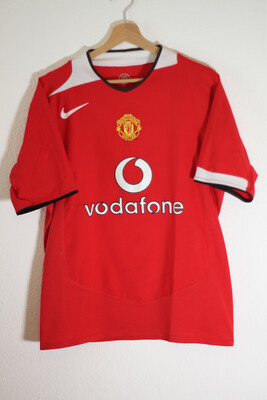 Maillot Manchester United 2004/06 Home