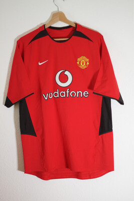 Maillot Manchester United 2002/03 Home