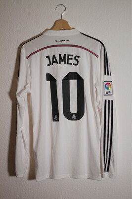 Real Madrid Home 2014/15 #10 JAMES