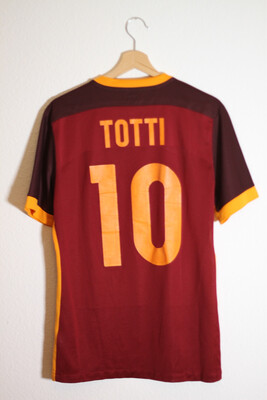 AS Roma Home 2015/16 #10 TOTTI