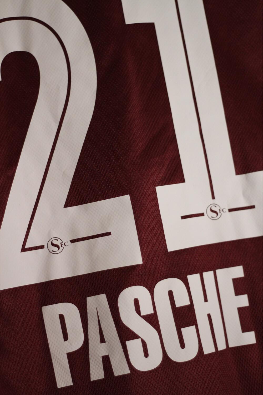 Servette FC 2013/14 Home #21 PASCHE (matchworn)