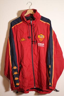 AS Roma 2000/01 Training Kway (avec étiquette d'origine)