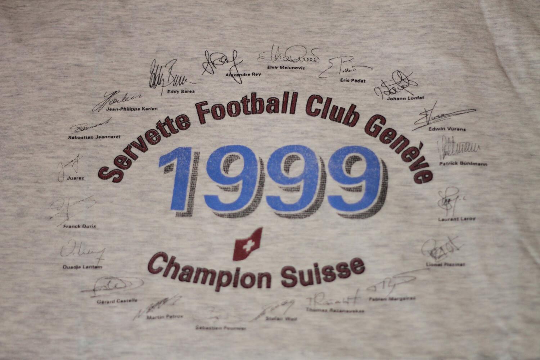 Servette FC T-shirt Champion 1999