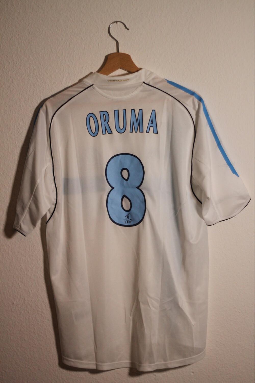 Olympique de Marseille 2005/06 HOME #8 ORUMA (BNWT)