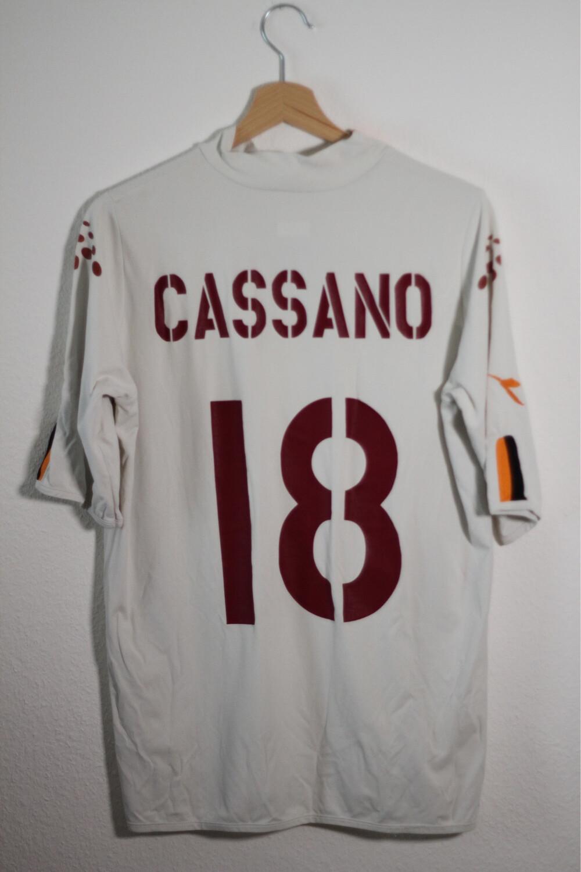AS Roma 2003/04 Away N°18 CASSANO