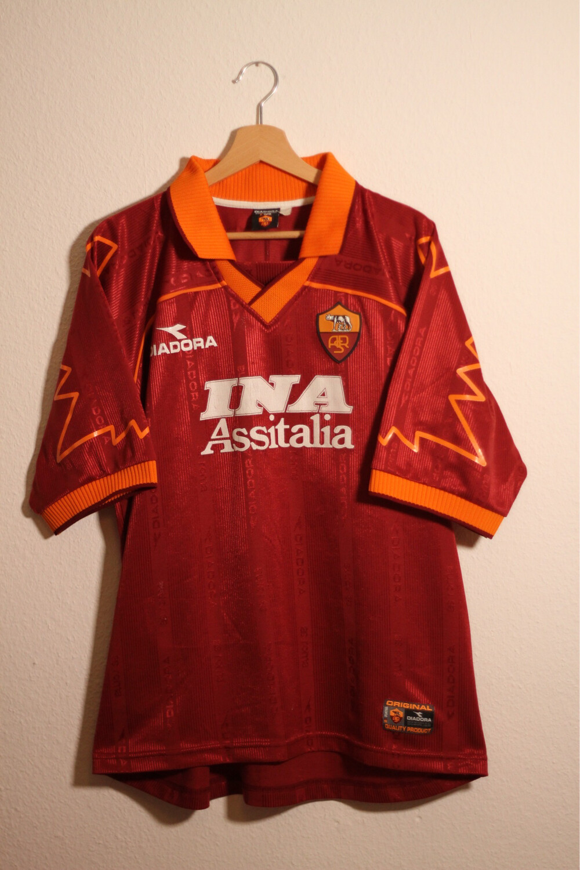 AS Roma 1999/00 Home #10 TOTTI